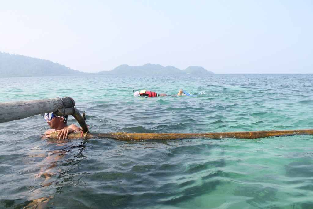Spot snorkeling pulau Pahawang, Foto: Nihlah Ayu