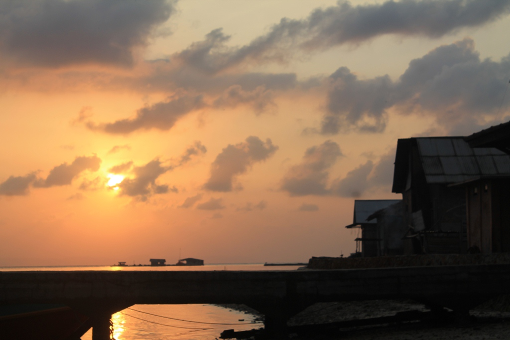 Sunrise. Foto: Nihlah Ayu