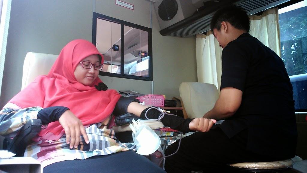 Himagron Dan KSR Ajak Mahasiswa Donor Darah